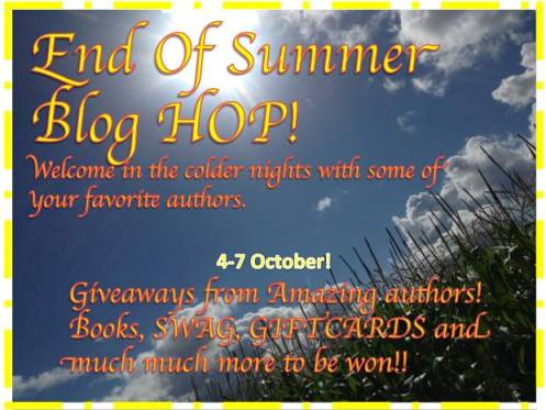 End of Summer Blog Hop–Tomorrow